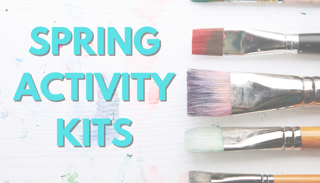 Paint brushes - spring activity kits picture